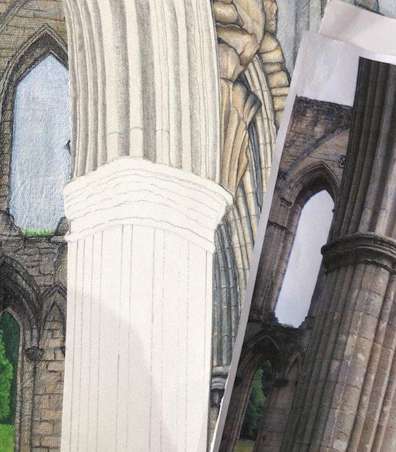 base colour for the foreground arch