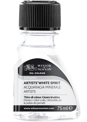 white spirit for brush cleaning