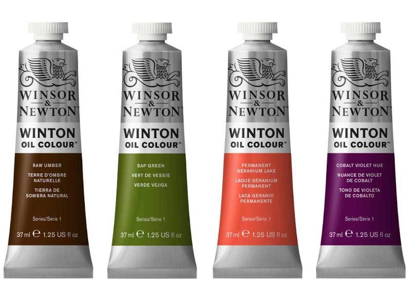 Winton 37ml OIl Paints